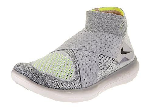 Nike Free RN Motion Flyknit 2017 Women's Running Shoe - Grey Image 11