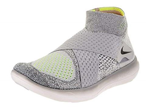 Nike Free RN Motion Flyknit 2017 Women's Running Shoe - Grey Image 6