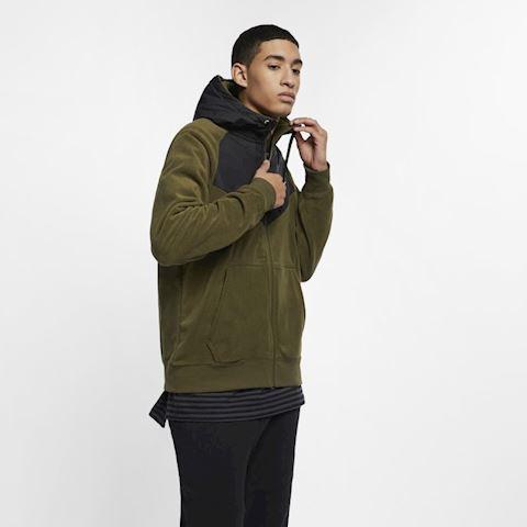 Nike Sportswear Men's Full-Zip Hoodie - Green Image