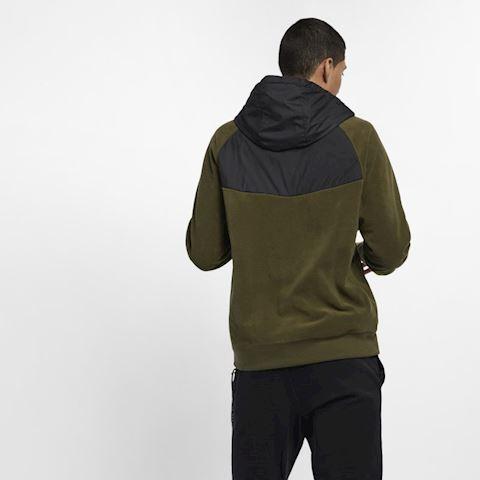 Nike Sportswear Men's Full-Zip Hoodie - Green Image 3