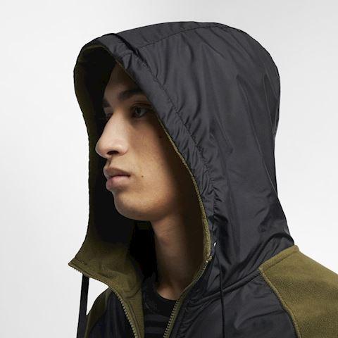 Nike Sportswear Men's Full-Zip Hoodie - Green Image 4