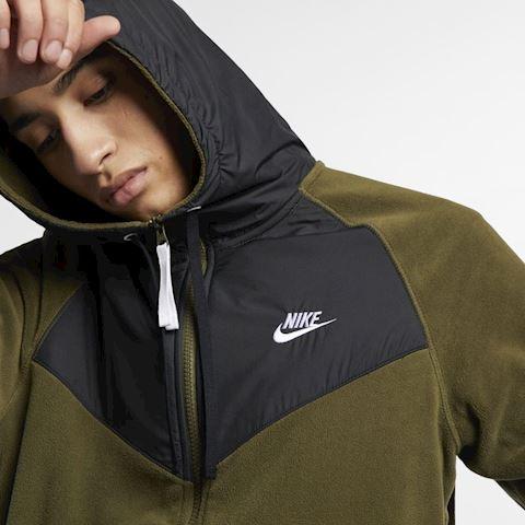 Nike Sportswear Men's Full-Zip Hoodie - Green Image 5