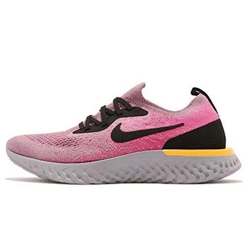 Nike Epic React Flyknit Older Kids'Running Shoe - Purple Image