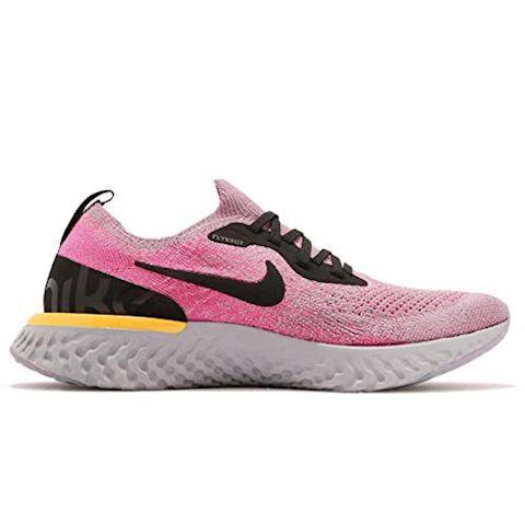 Nike Epic React Flyknit Older Kids'Running Shoe - Purple Image 2