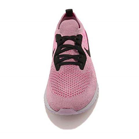 Nike Epic React Flyknit Older Kids'Running Shoe - Purple Image 5