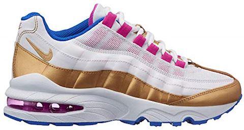 buy popular 66a8a cae01 Nike Air Max'95 LE Girls' Shoe - White