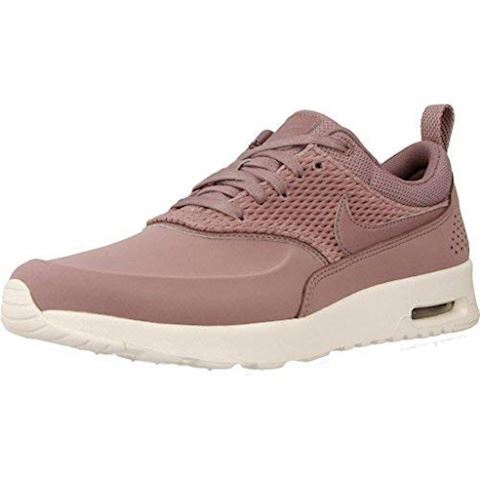 best service b69ff 9916e Nike Air Max Thea Premium Leather Womens Shoe - Pink Image