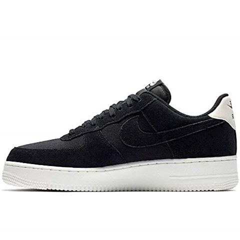 Nike Air Force 1'07 Suede Men's Shoe - Black Image 2