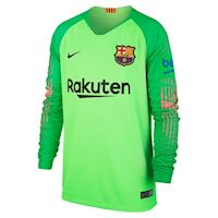 Nike Barcelona Kids LS Goalkeeper Home Shirt 2018 19 df946d334