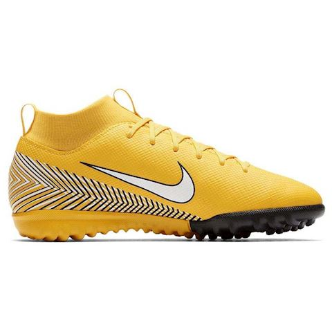 newest collection bd710 6ca66 Nike Jr. Mercurial Superfly VI Academy Neymar Jr. Younger/Older Kids'Turf  Football Shoe - Yellow