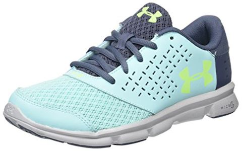 Under Armour Girls' Grade School UA Micro G Rave Running Shoes Image