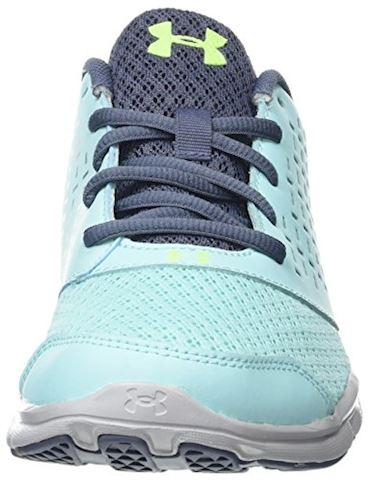 Under Armour Girls' Grade School UA Micro G Rave Running Shoes Image 4