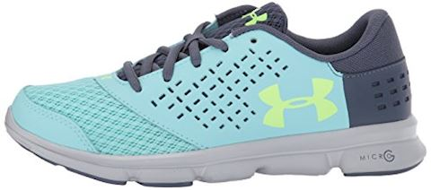 Under Armour Girls' Grade School UA Micro G Rave Running Shoes Image 5