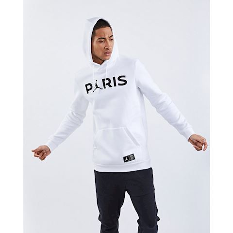 cheap for discount dd19f 797b4 Nike Paris Saint-Germain Jumpman Men's Pullover Hoodie - White