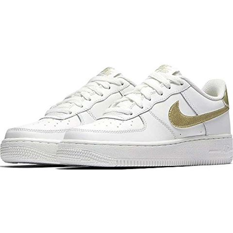 Nike Air Force 1'06 Younger Kids' Shoe - White Image 2