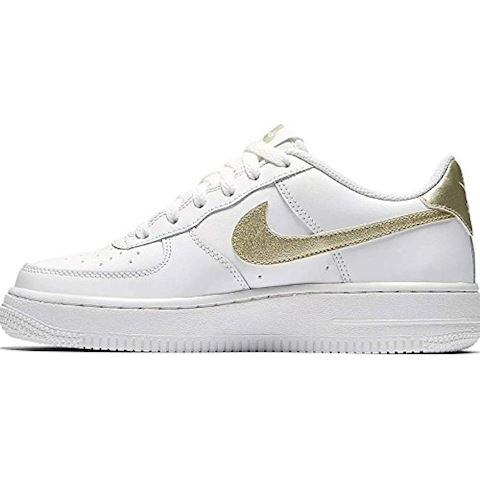 Nike Air Force 1'06 Younger Kids' Shoe - White Image 3