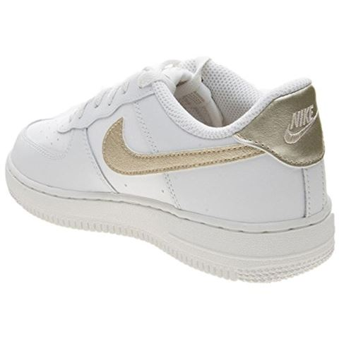 Nike Air Force 1'06 Younger Kids' Shoe - White Image 4