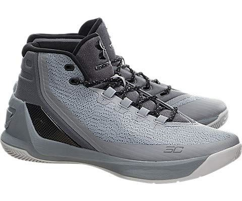Under Armour Men's UA Curry Three Basketball Shoes Image 7