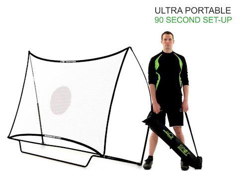 SPOT 8 x 5ft Junior Rebounder Football Goal Image