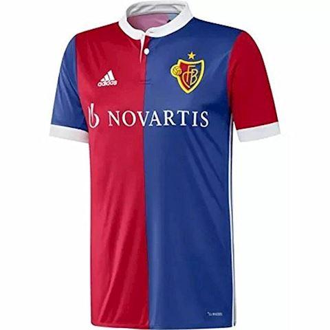 adidas FC Basel Mens SS Home Shirt 2017/18 Image
