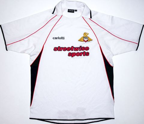 Doncaster Rovers Mens SS Away Shirt 2004/05 Image 3