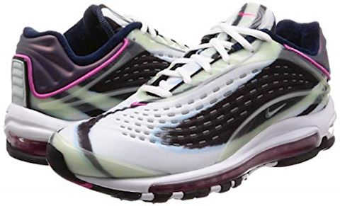 Nike Air Max Deluxe Green, Silver, Obsidian & Pink Image 5