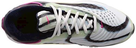 Nike Air Max Deluxe Green, Silver, Obsidian & Pink Image 7
