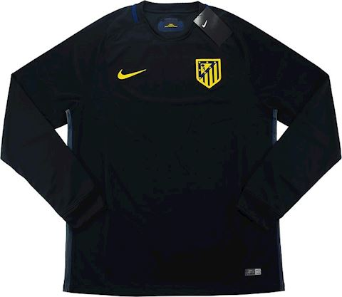 Nike Atlético Madrid Mens LS Player Issue Away Shirt 2016/17 Image