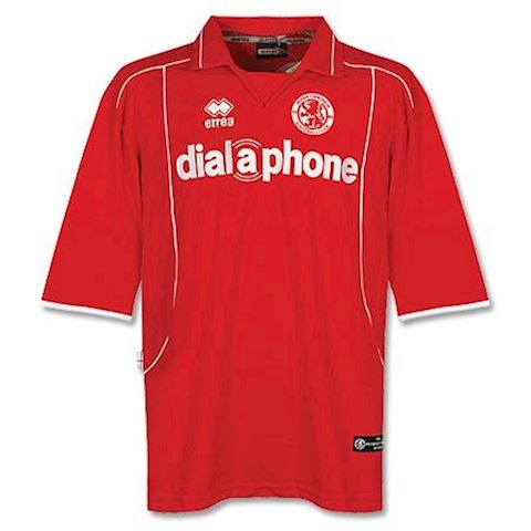 Errea Middlesbrough Mens SS Home Shirt 2003/04 Image