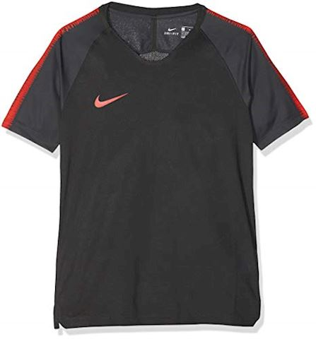 Nike Breathe Squad Older Kids'(Boys') Short-Sleeve Football Top - Black Image