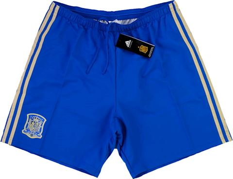 adidas Spain Mens Goalkeeper Player Issue Home Shorts 2013 Image