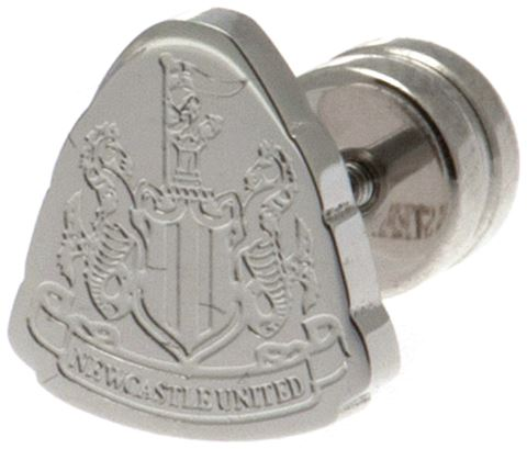 Stainless Steel Newcastle Utd Crest Stud Earring Image