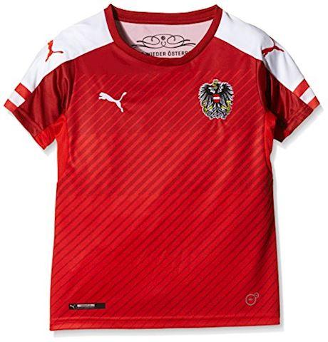Puma Austria Kids SS Home Shirt 2016 Image