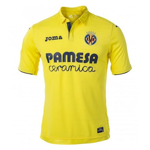 Joma Villarreal Mens SS Home Shirt 2017/18 Image
