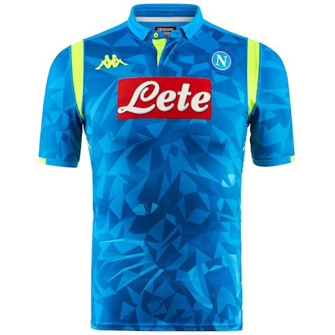 Kappa Napoli Mens SS Home Champions League Shirt 2018/19