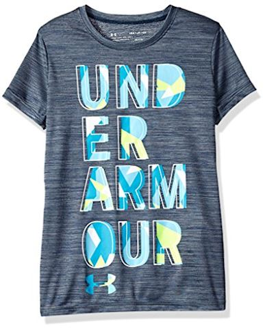 Under Armour Girls' UA Hybrid 2.0 Big Logo T-Shirt Image
