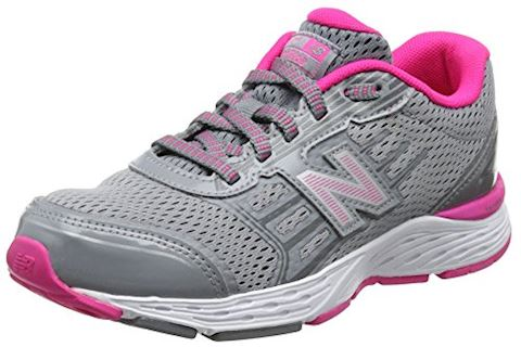 New Balance  KJ680  girls's Shoes (Trainers) in Grey Image