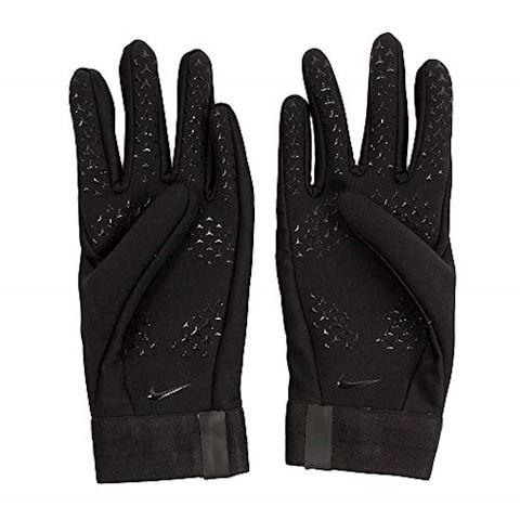 Nike HyperWarm Academy Kids'Football Gloves - Black Image 3