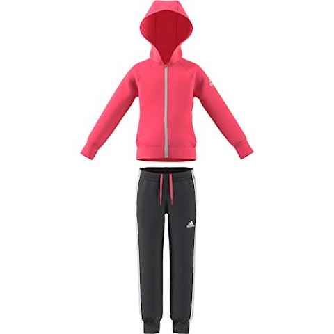 adidas Little Girls Knitted Tracksuit Image