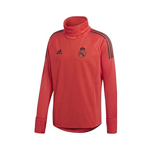 adidas Real Madrid Training Shirt UCL Warm - Real Coral/Black Image 3