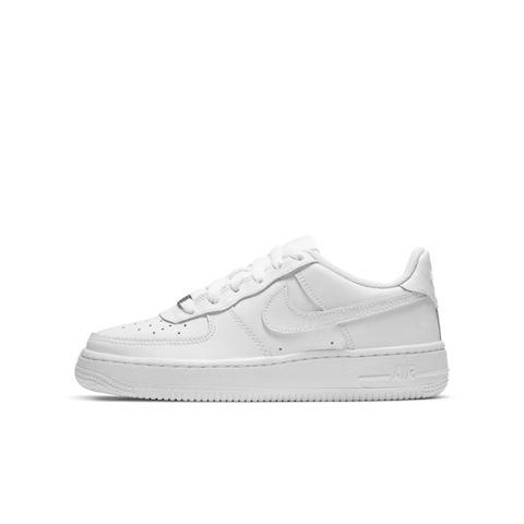 Nike Air Force 1 Older Kids' Shoe - White Image