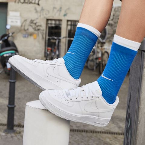 Nike Air Force 1 Older Kids' Shoe - White Image 5