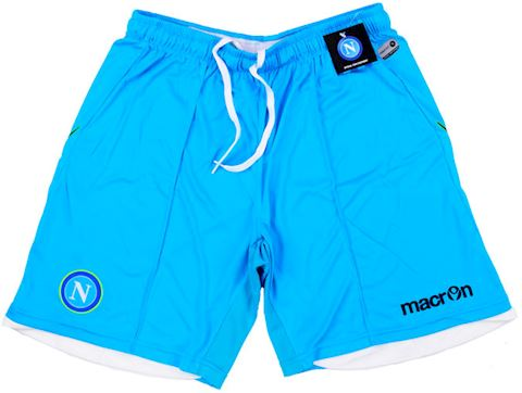 Macron Napoli Mens Home Shorts 2014/15 Image