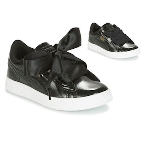 Puma Basket Heart Glam Pack - Pre School Shoes Image