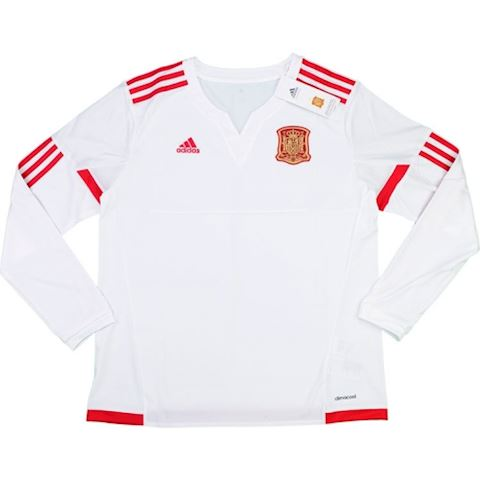 adidas Spain Womens LS Away Shirt 2015 Image