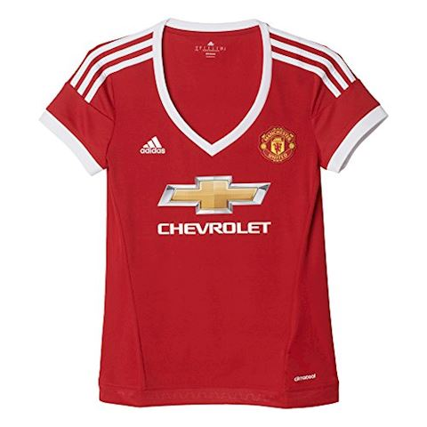 adidas Manchester United Womens SS Home Shirt 2015/16 Image