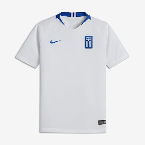 Nike Greece Kids SS Home Shirt 2018 Image