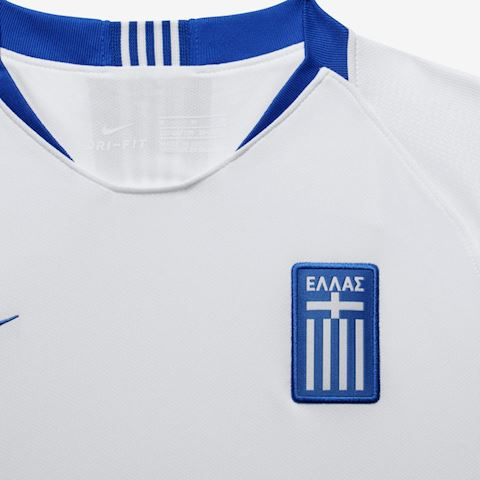 Nike Greece Kids SS Home Shirt 2018 Image 3