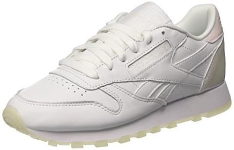 Reebok Classic  CL LTHR L  women's Shoes (Trainers) in white Image