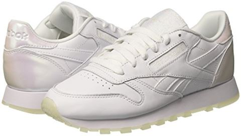 Reebok Classic  CL LTHR L  women's Shoes (Trainers) in white Image 5
